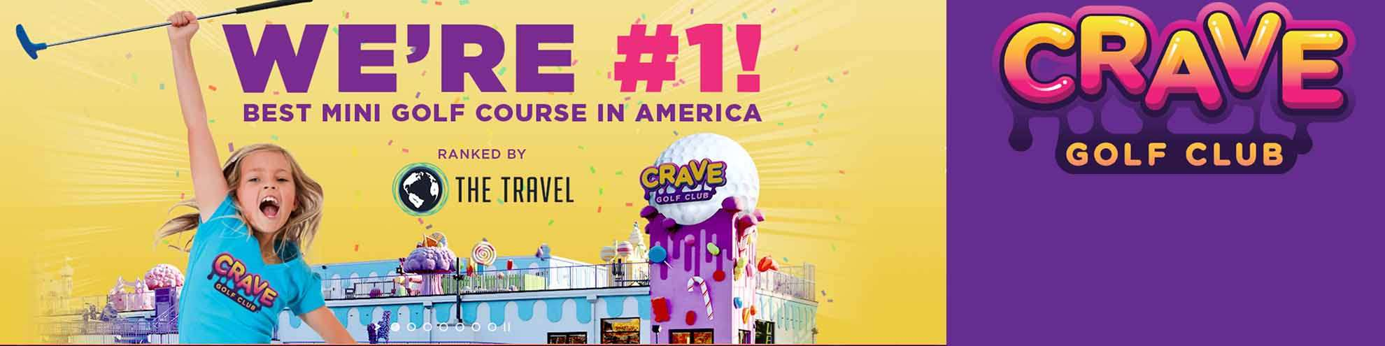 Crave Golf Club Discount Tickets