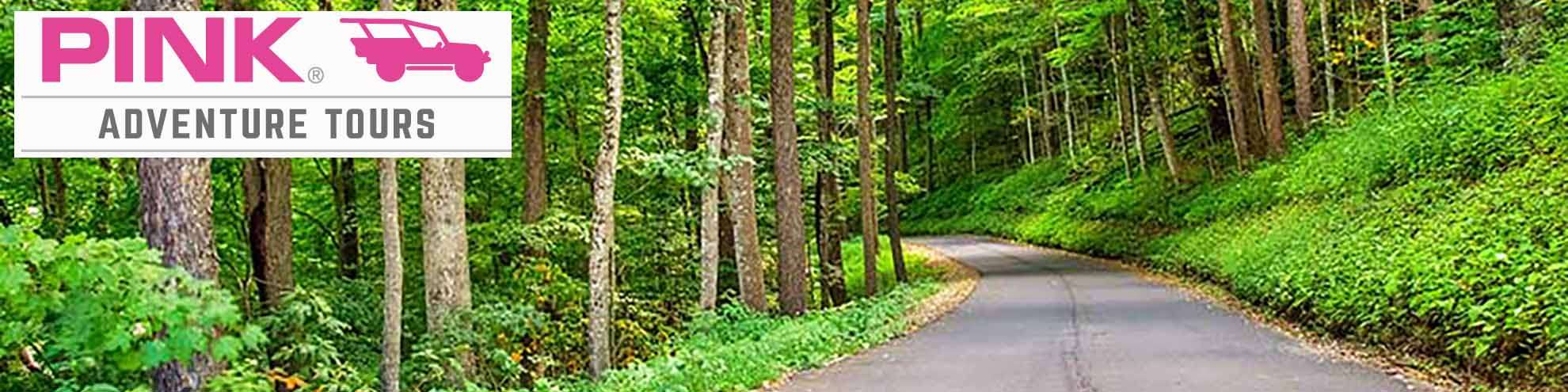 Pink Adventure Tours Discount Tickets - Roaring Fork Smoky Mountains Tour