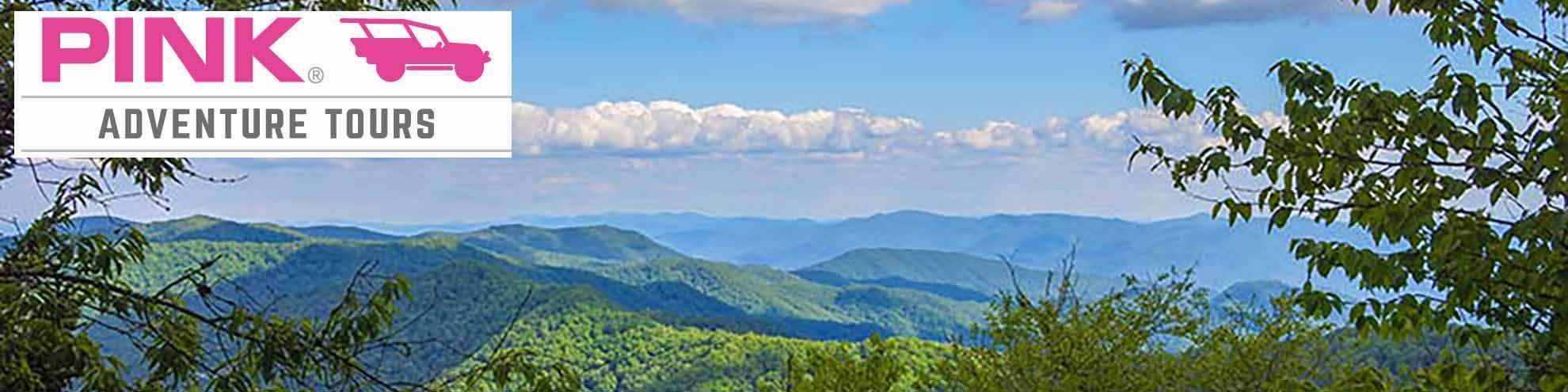 Pink Adventure Tours Discount Tickets - Valleys and Views Smoky Mountains Tour