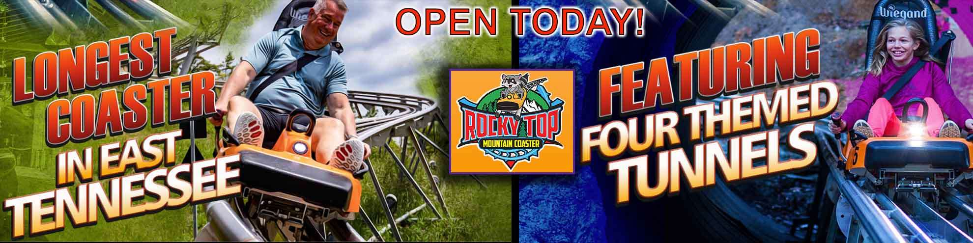 Rocky Top Mountain Coaster Discount Tickets