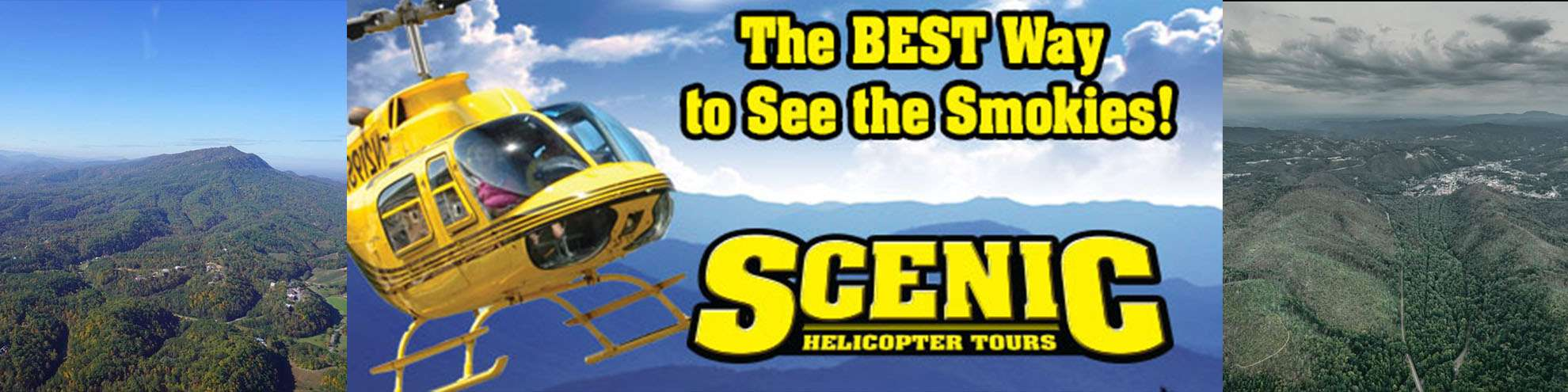 Scenic Helicopter Tour discounted tickets