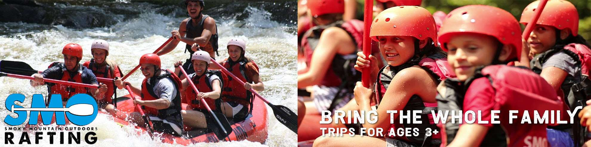 Smoky Mountain Outdoor Rafting Discounted Tickets